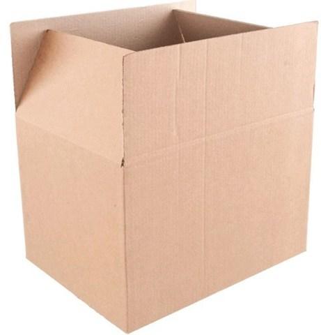 Коробка картонная 310х240х160 (гофрокороб бурый)
