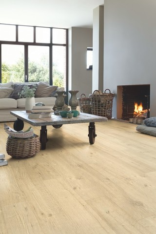 Sandblasted Oak natural | Ламинат QUICK-STEP IMU1853