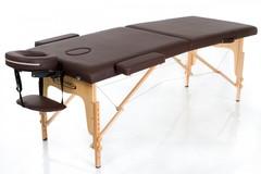 Массажный стол деревянный 2-хсекционный RESTPRO Classic 2 Coffee