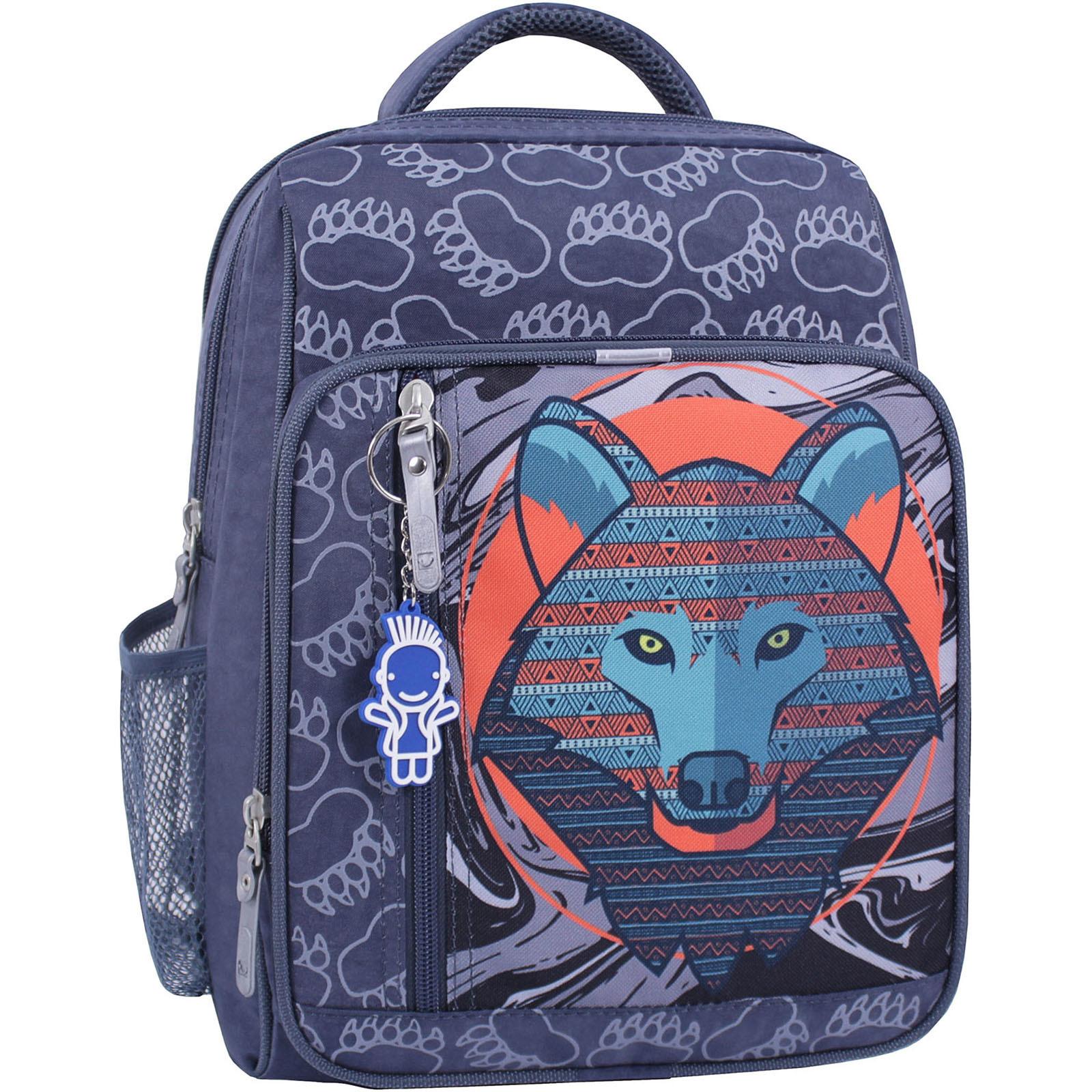 Рюкзак школьный Bagland Школьник 8 л. 321 серый 509 (00112702) фото1
