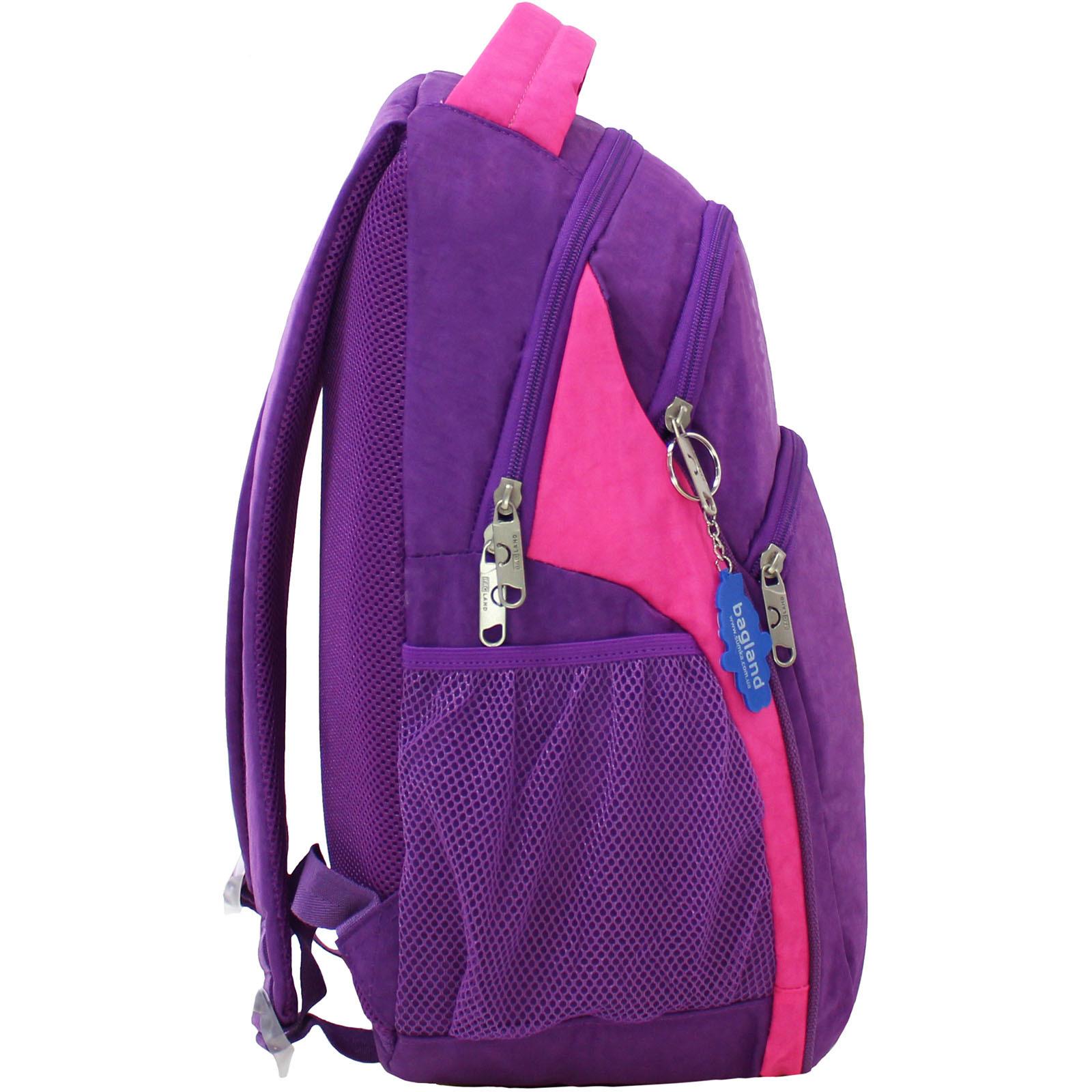 Рюкзак Bagland Лик 21 л. Фиолетовый/розовый (0055770) фото 2