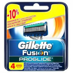 Сменные кассеты для бритья FUSION PROGLIDE 4шт