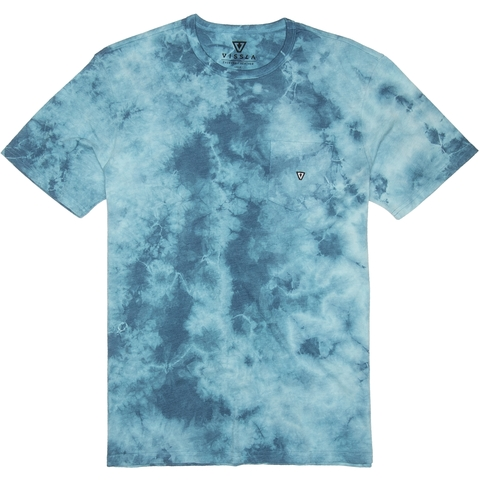 VISSLA Calipher Embroidered Tie Dye Tee
