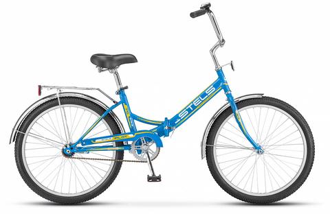 Складной велосипед Stels Pilot-710 синий