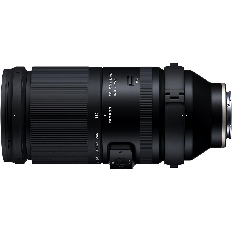Полнокадровый телеобъектив Tamron 150-500mm для камер Sony Alpha