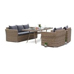 Обеденный комплект мебели на 5 персон 4sis Моккачино