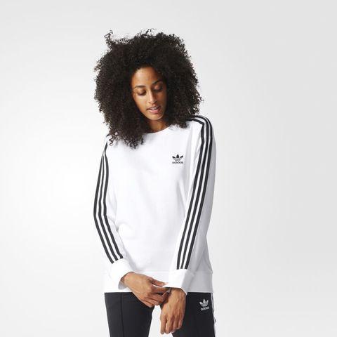 Свитшот женский adidas ORIGINALS 3S A-LINE SWEAT