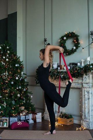 Ремень Ojas Long хлопок 300 х 4 см для йоги