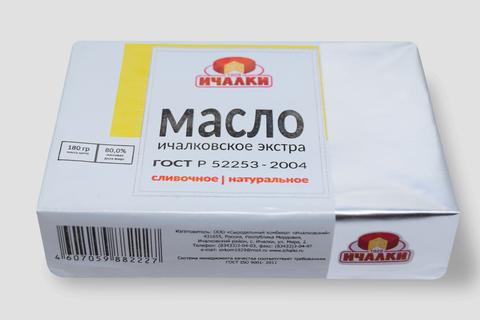 Масло Ичалковское 80% пачка ИП
