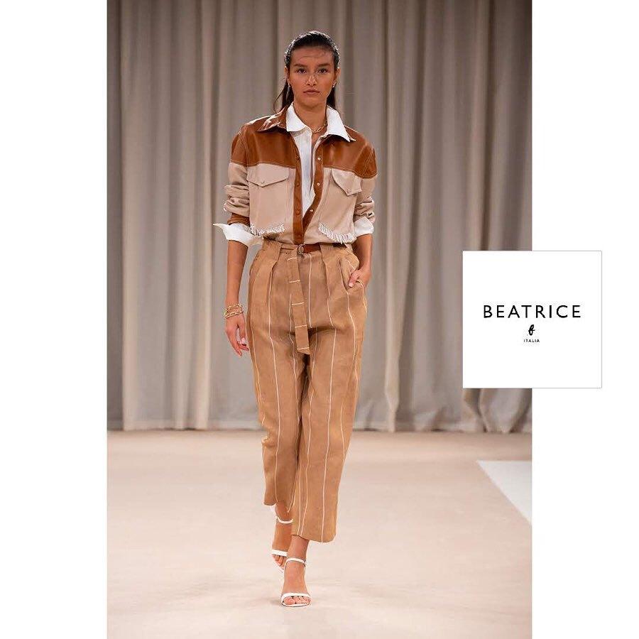 Beatrice b Брюки-слоучи в полоску