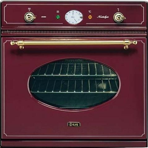 Электрический независимый духовой шкаф ILVE 600 NMP RB  бордо