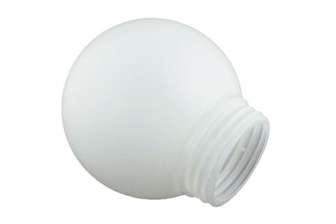 Рассеиватель РПА 85-200 шар-пластик (белый) TDM