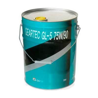 L2962P20E1 Kixx GEARTEC GL-5 75W-90 трансмиссионное масло МКПП (20 Литров) купить на сайте официального дилера ht-oil.ru