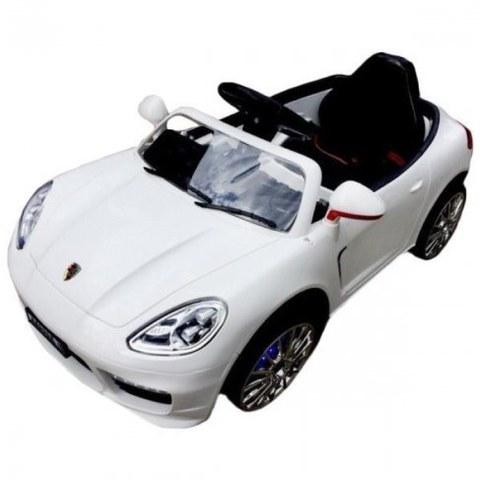 Детский электромобиль Rivertoys Porsche Panamera А444АА белый кожа