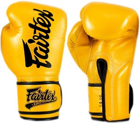 Перчатки для бокса Fairtex Boxing gloves BGV18 Gold