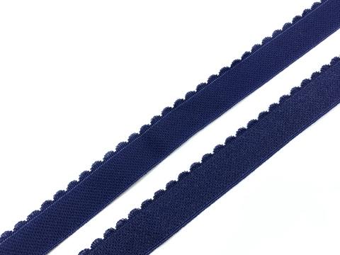 Резинка отделочная темно-синяя 20 мм (цв. 061)