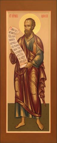 Икона святой пророк Елисей на дереве на левкасе мастерская Иконный Дом