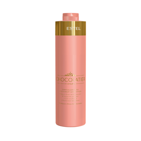 """Шампунь для волос """"Розовый шоколад"""" OTIUM CHOCOLATIER, 1000 мл"""