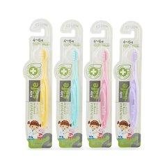 Зубная щётка CJ Lion с антибактериальной щетиной для детей от 4 до 6 лет