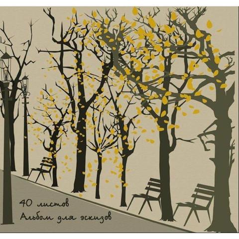 Альбом для рисования Kroyter Городской пейзаж А4 40 листов