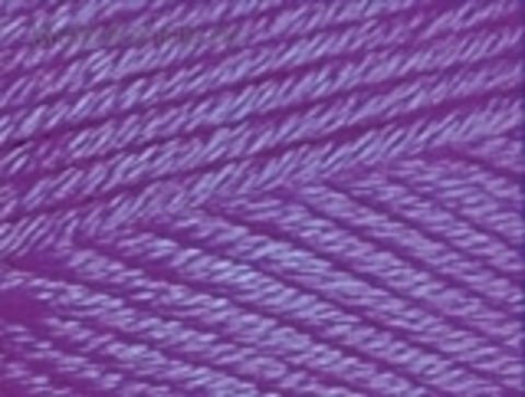 Cotton gold PLUS 44 Фиолетовый Alize - фото