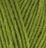 Пряжа Alize Lanagold 485 (Зеленая черепаха)
