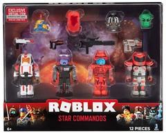 Игровая коллекционная фигурка Jazwares Roblox Mix & Match Set Star Commandos W6