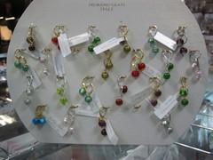 Серьги Carnevale Piccolo Oro зеленые