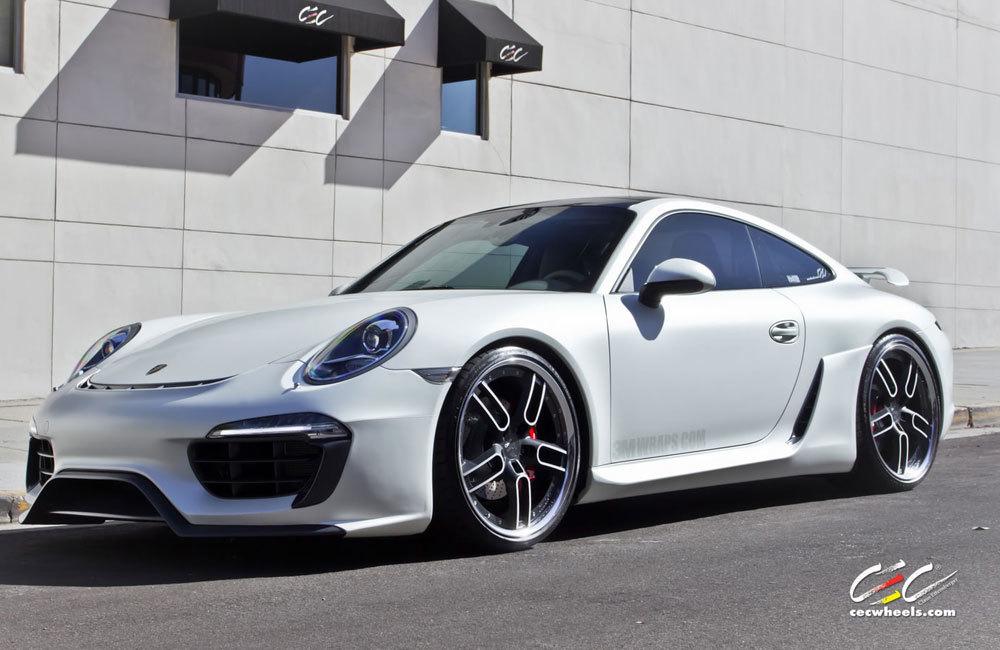 Обвес Caractere Exclusive на Porsche 911