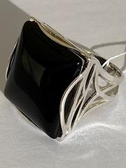 Градэ-агат  (кольцо из серебра)
