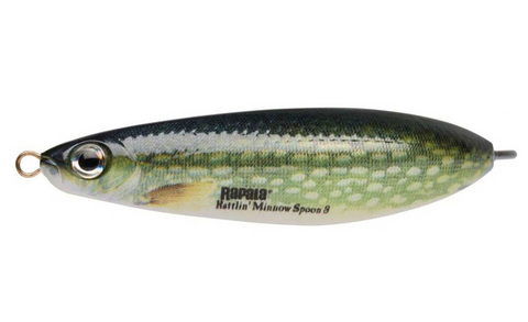 Незацепляйка RAPALA Rattlin' Minnow Spoon 8 см, цвет PK
