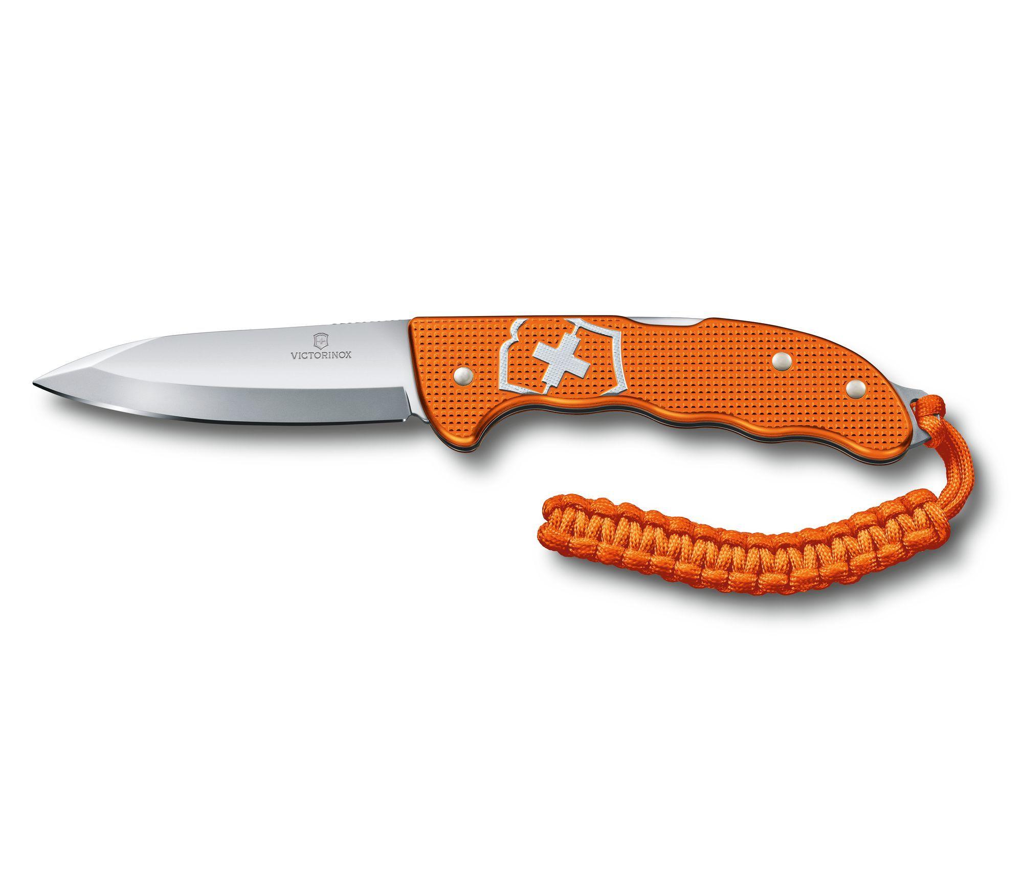 Складной швейцарский нож Victorinox Hunter Pro Alox Limited Edition 2021, цвет оранжевый (0.9415.L21) лимитированное издание   Wenger-Victorinox.Ru