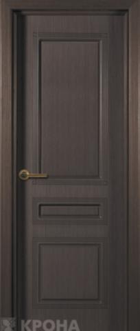 Дверь Крона Стиль, цвет венге, глухая