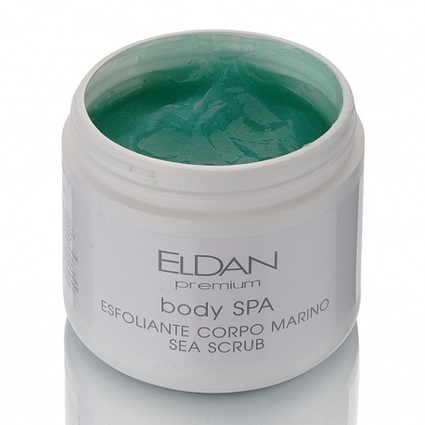 Eldan Premium body SPA sea scrab, SPA-скраб для тела с морскими водорослями, 500 мл.