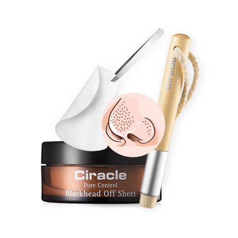 Cалфетки для удаления черных точек Ciracle pore control blackhead off sheet