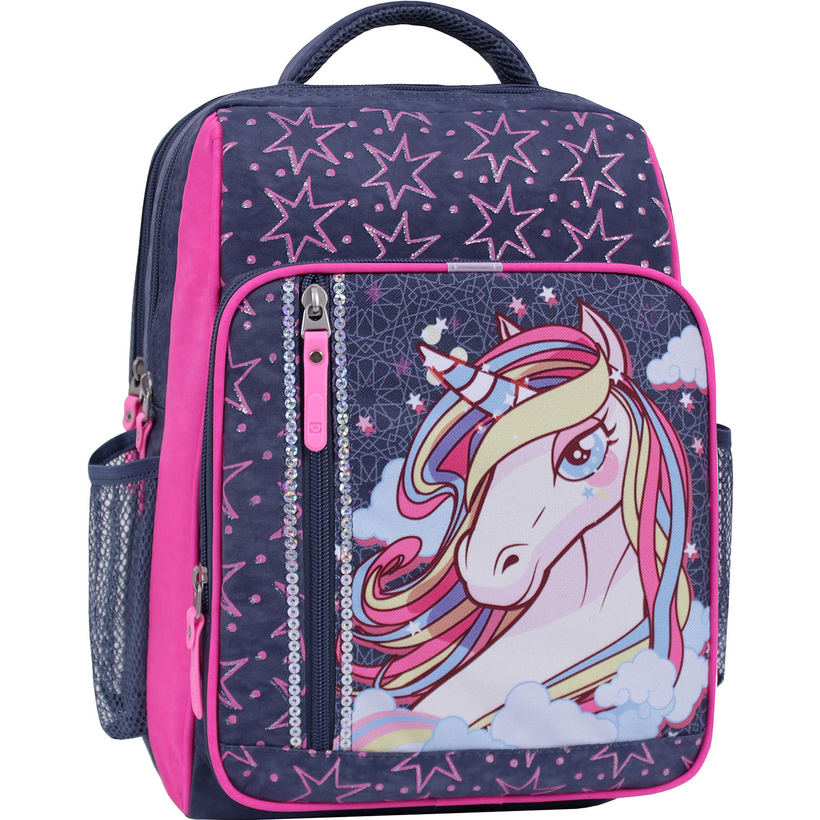 Школьные рюкзаки Рюкзак школьный Bagland Школьник 8 л. 321 серый 511 (00112702) IMG_1591_суб.511_.JPG