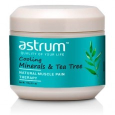 Astrum: Терапевтический гель с маслом чайного дерева (Cooling mineral  tea tree natural muscle pain therapy), 113гр