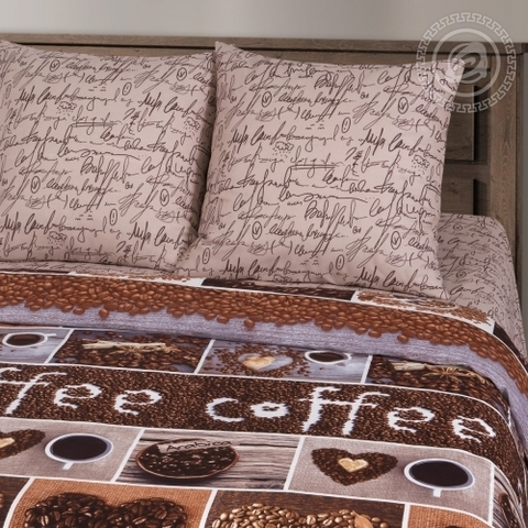 Комплект постельного белья Кофемания Премиум ХИТ