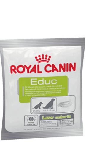Royal Canin Educ лакомство для поощрения при обучении и дрессировке взрослых собак и щенков