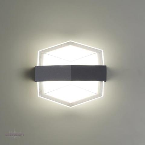 Уличный настенный светодиодный светильник 358574 серии KAIMAS
