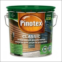 Пропитка для защиты древесины Pinotex CLASSIC (калужница)