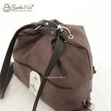 Сумка Саломея 387 французский сфинкс шоколад (рюкзак)