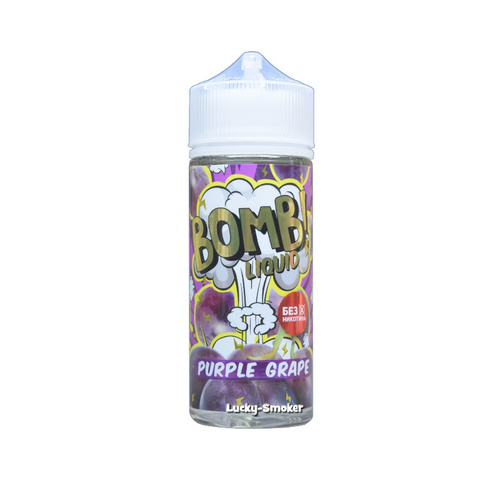 Жидкость Bomb Liquid 120 мл Purple Grape