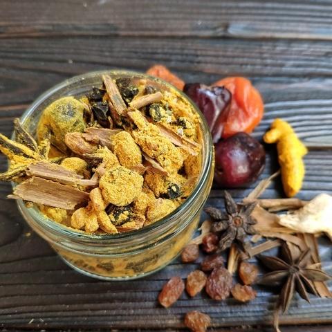 Фотография Финиковый чай ручной сборки от Доулы 350 г купить в магазине Афлора