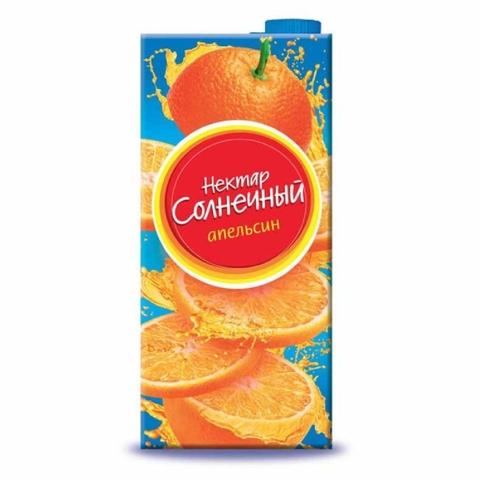 Напиток НЕКТАР СОЛНЕЧНЫЙ Апельсин 0,95 л т/п КАЗАХСТАН