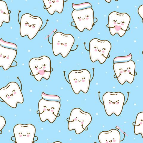 Весёлые зубки