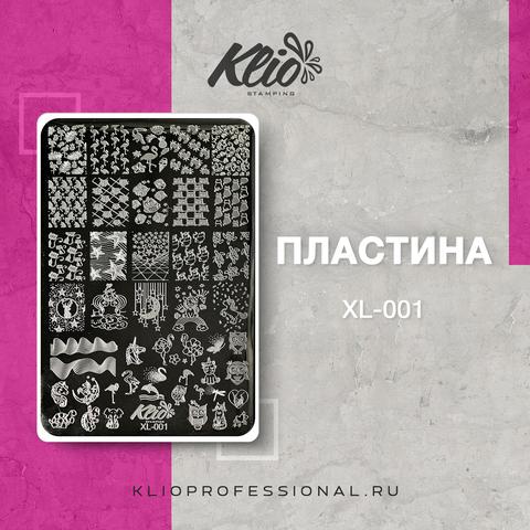 ПЛАСТИНА ДЛЯ СТЕМПИНГА KLIO PROFESSIONAL XL-001