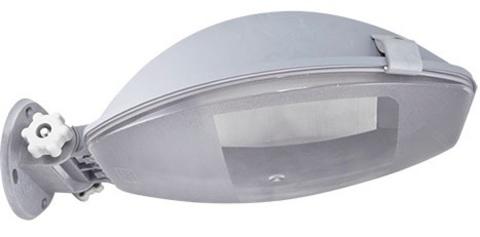 Светильник уличный ЛНУ серый, IP65, 1х100 Вт, Е27 TDM