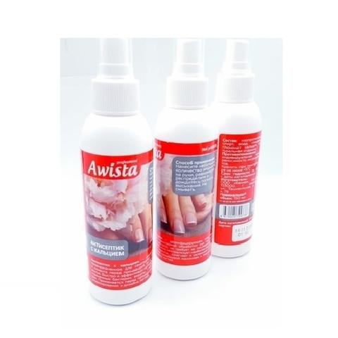 Антисептик для рук спрей с кальцием 150 мл, Awista Professional