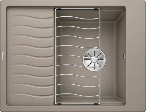 Кухонная мойка Blanco ELON 45S, серый бежевый